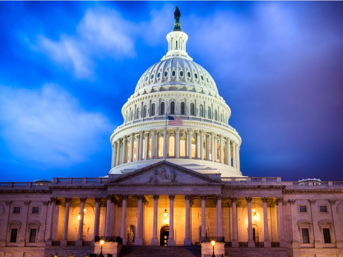 U.S. Capitol Building at Twilight